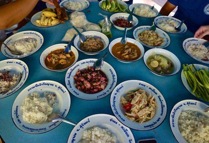 Street food en Thailande