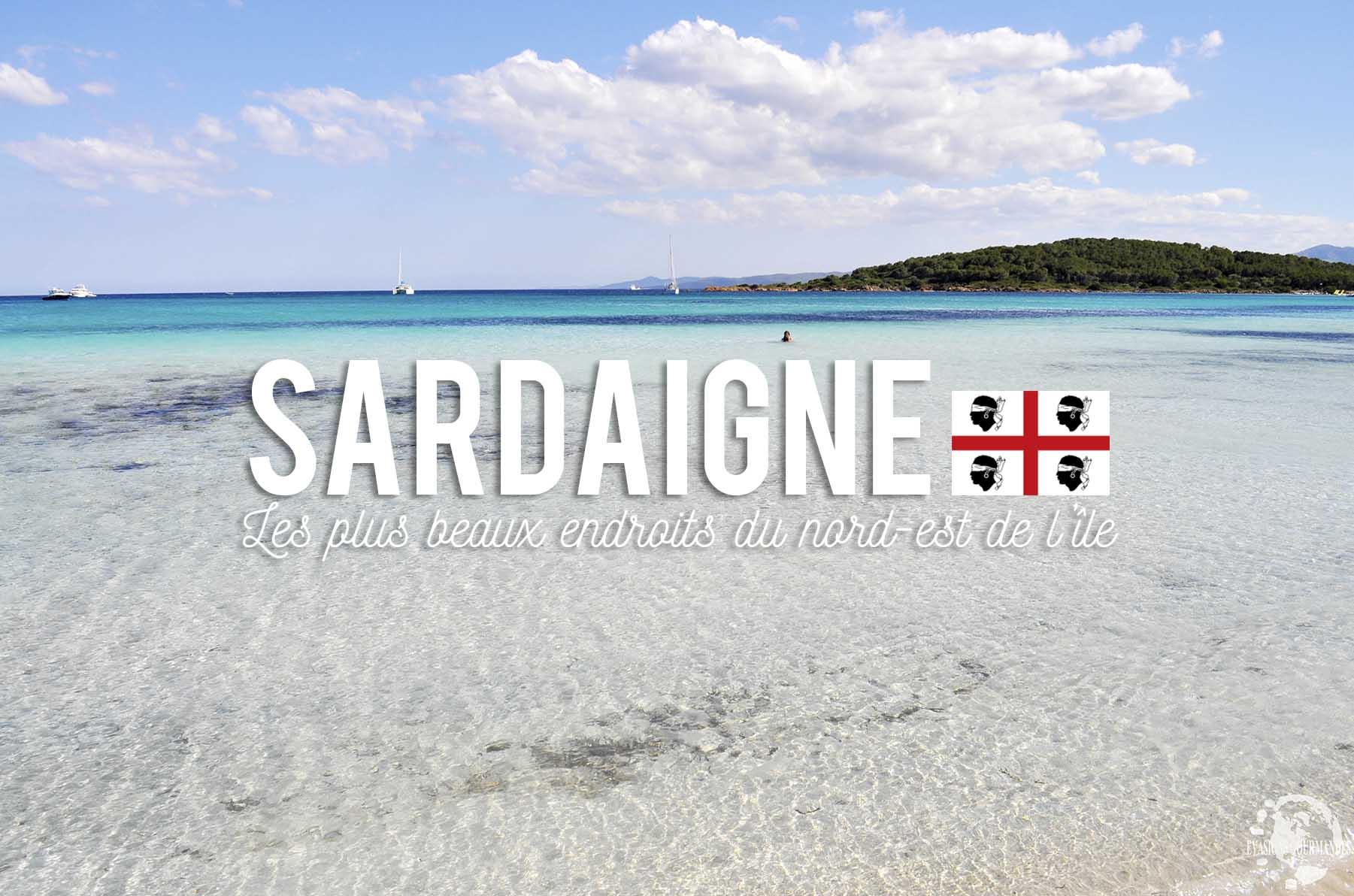 nord est de la Sardaigne