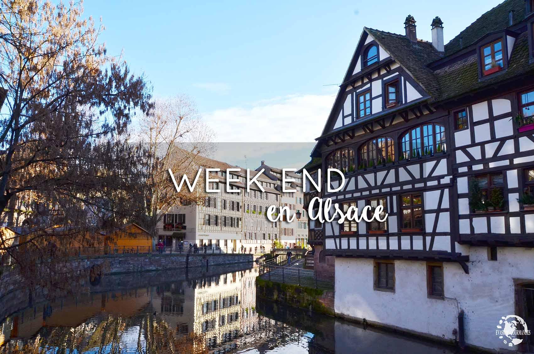 Week end en Alsace