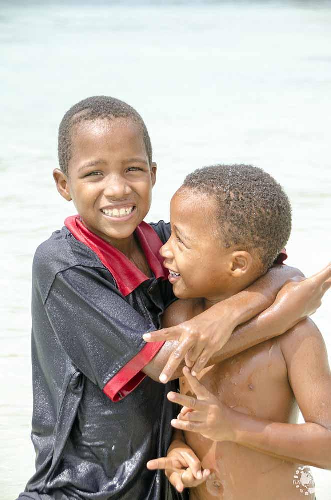 Rencontre avec les enfants dominicains