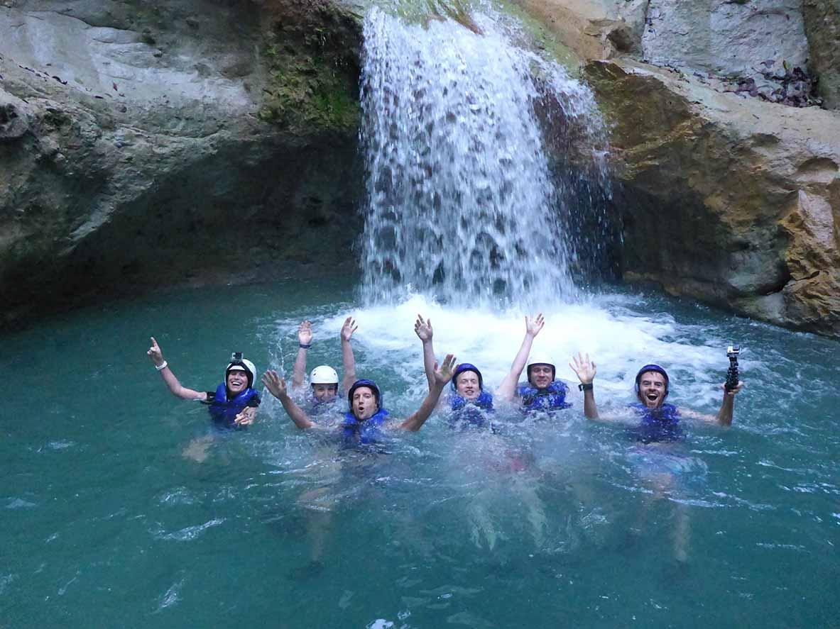 canyoning 27 waterfalls