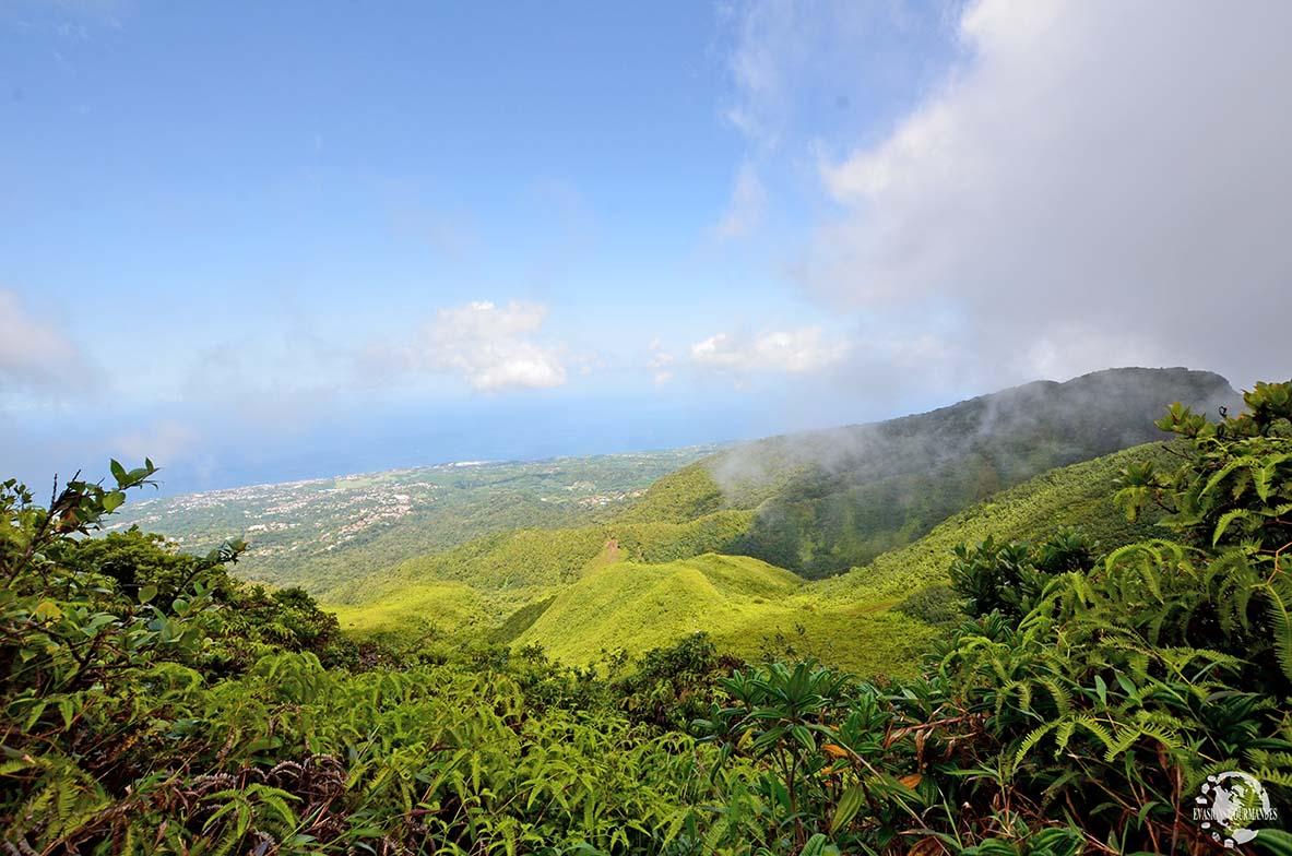 Ascension de La Soufrière - Caraïbes
