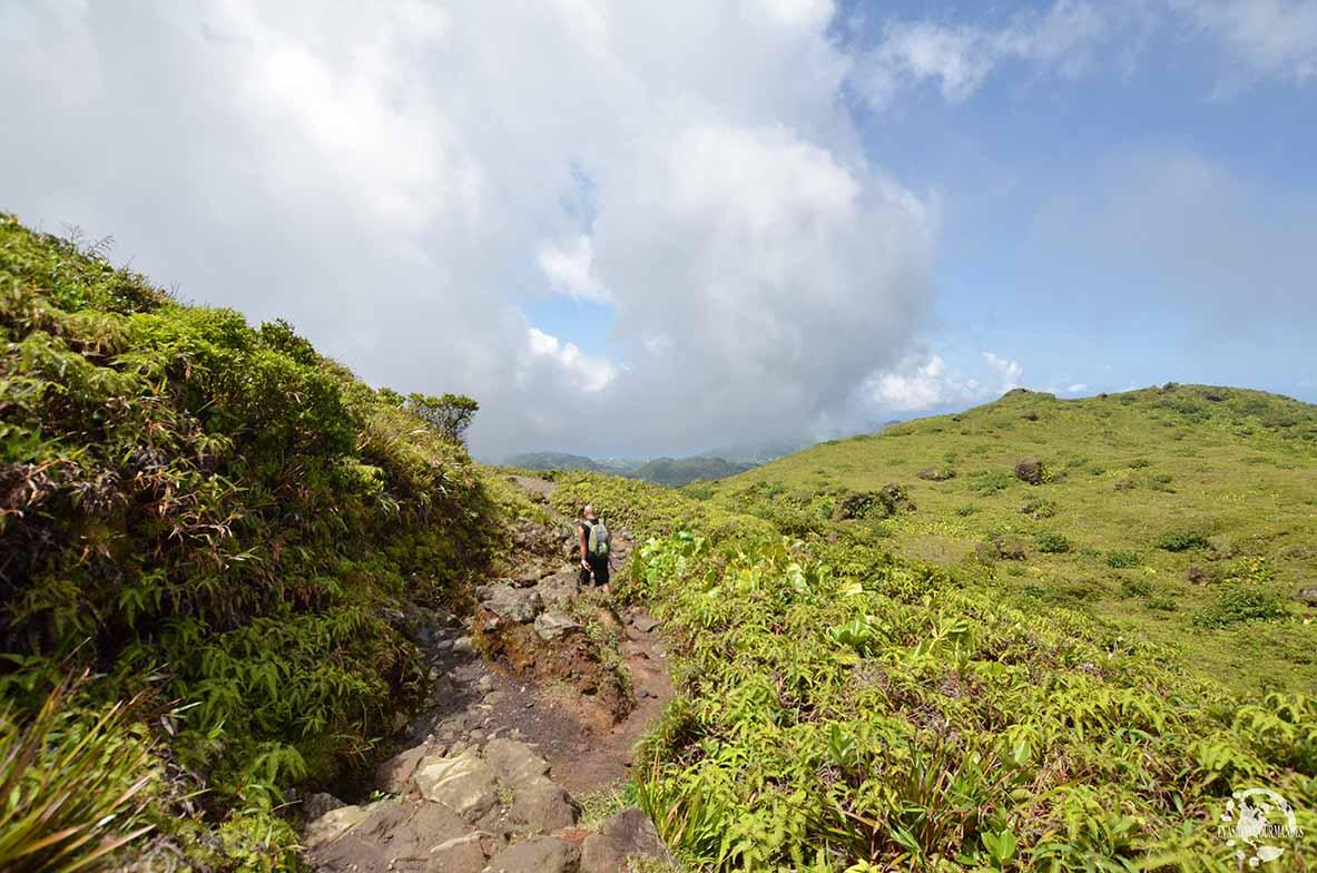 La Soufrière Guadeloupe