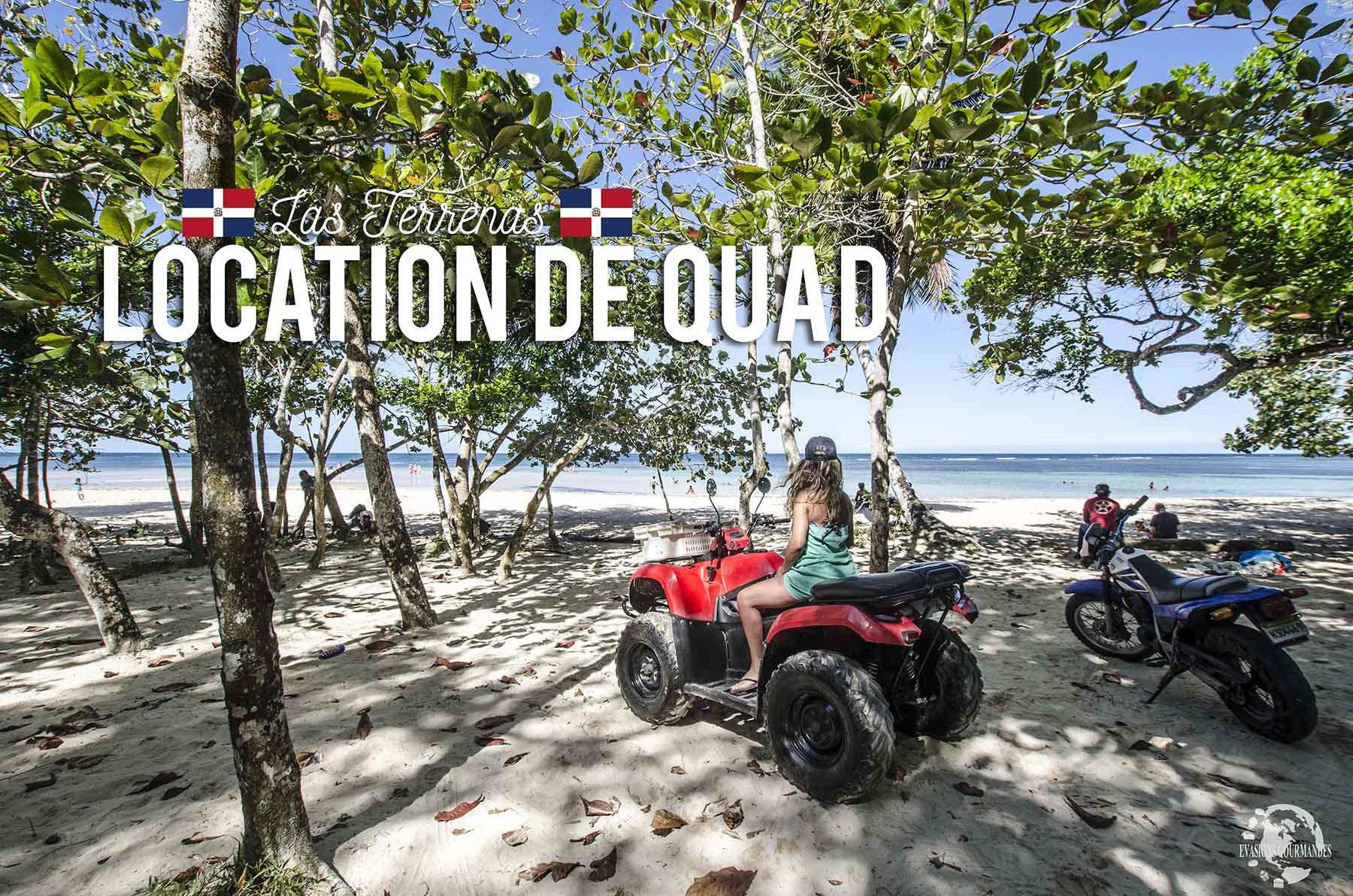 location quad Las Terrenas