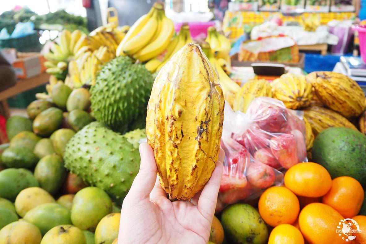 Voyage en Martinique, marché