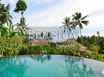 La campagne balinaise: Bienvenue à Bersila, la maison du bonheur !