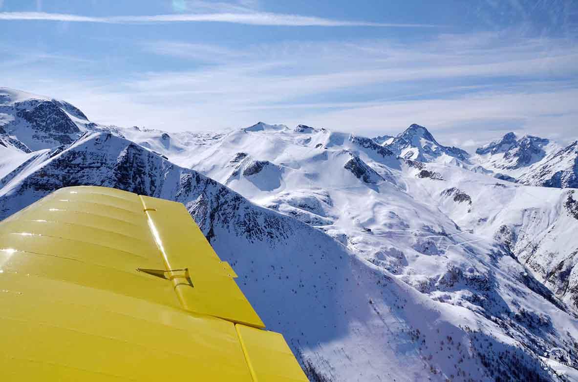 survol Alpes ULM