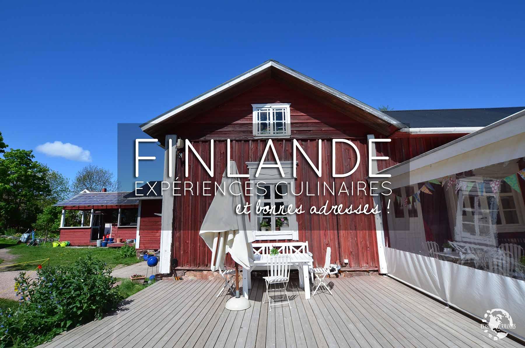 Expériences culinaires à vivre en Finlande