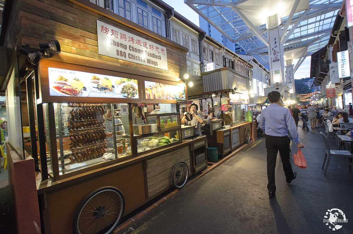 street food Singapour