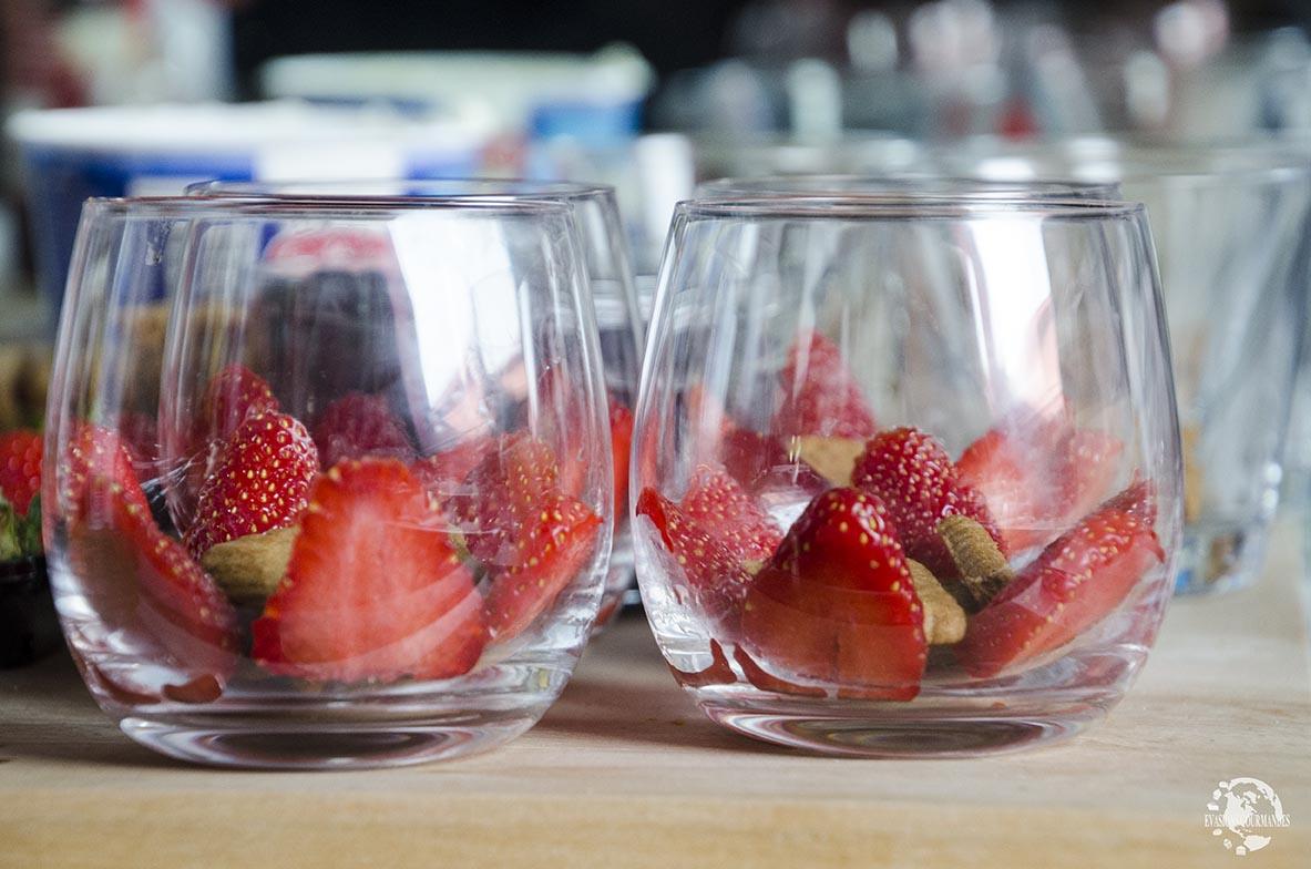 Tiramisu aux fruits rouges et speculoos