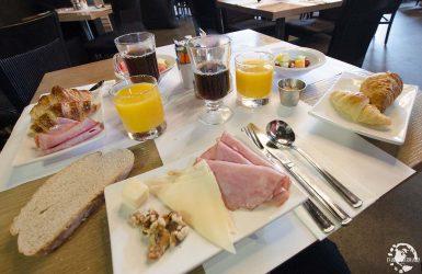 Petit déjeuner Hôtel 71