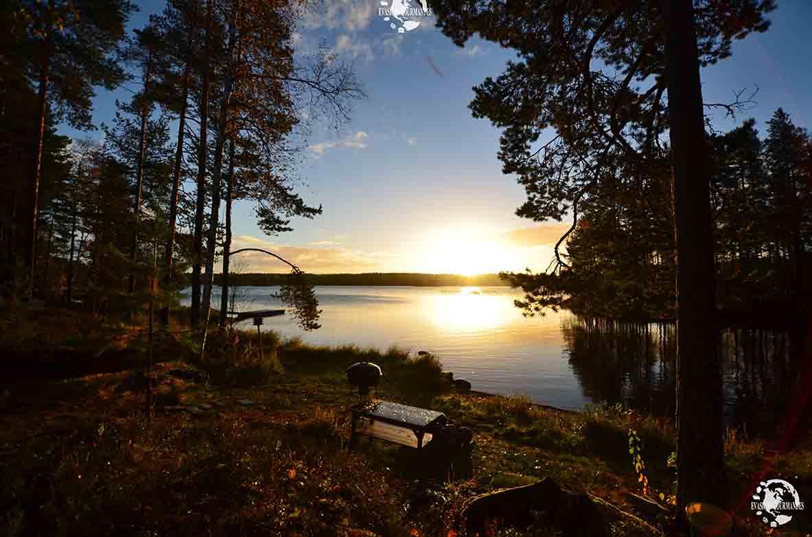 lever du soleil Finlande