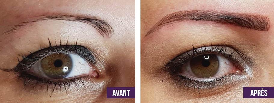 micropigmentation des sourcils