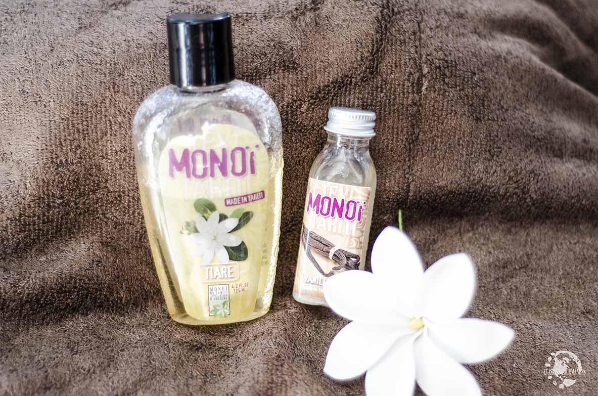 Produits de beauté voyage : monoï