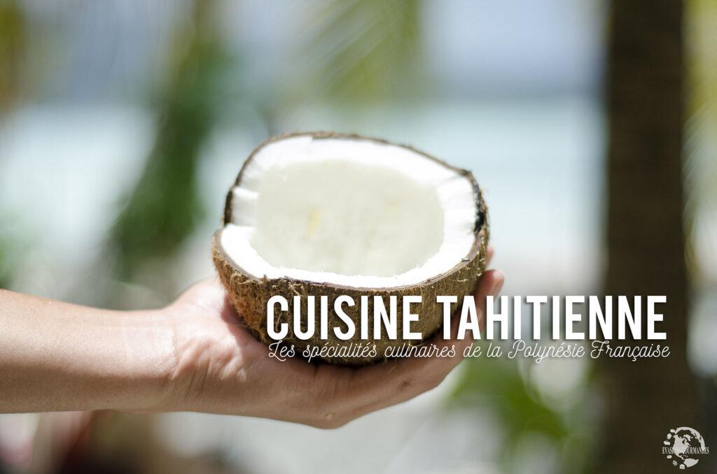 Spécialités culinaires de Polynésie