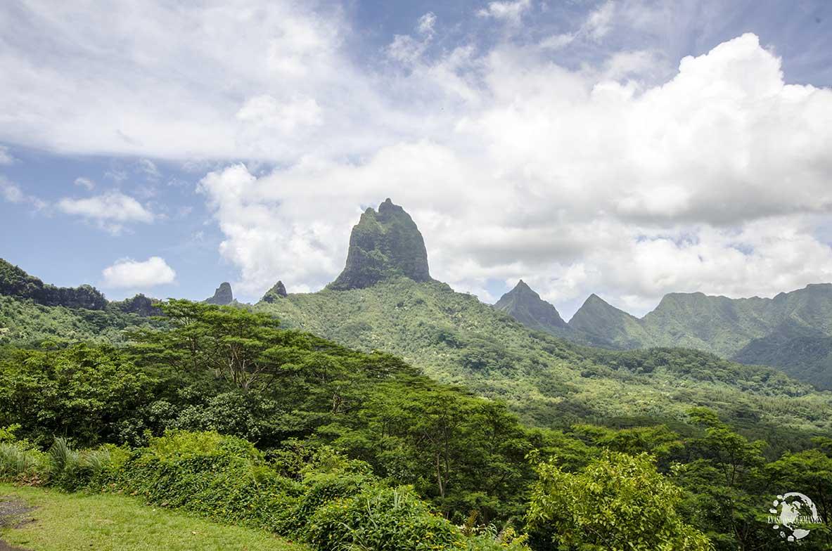 Montagnes Moorea
