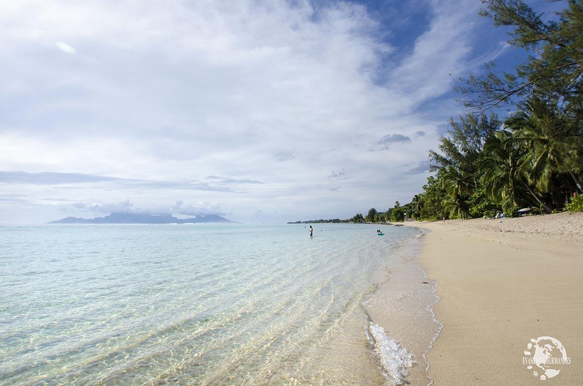 Plage Pk18 Tahiti